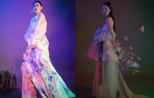 Sulli mặc hanbok cách điệu chụp photoshoot, netizen Hàn vu thành thiếu đứng đắn