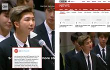 CNN, BBC và loạt báo đài quốc tế lớn ấn tượng trước bài phát biểu của BTS tại LHQ: 7 chàng trai đã làm nên lịch sử!