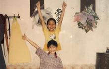 Bất ngờ với hình ảnh đáng yêu thuở nhỏ của cặp chị em Á Hậu Thanh Tú - Trà My