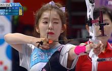 """Không chỉ so kè nhan sắc, Irene (Red Velvet) & Tzuyu (TWICE) còn đọ tài bắn cung """"một chín một mười"""""""