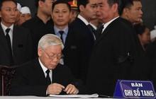 Xúc động dòng sổ tang viếng Chủ tịch Nước Trần Đại Quang