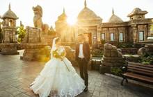 Ngất ngây những bức ảnh cưới trong bình minh và hoàng hôn tại Sun World Halong Complex