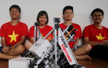 Teen FPT mang robot Việt, chuồn chuồn tre đi thi đấu quốc tế, kết quả thật bất ngờ