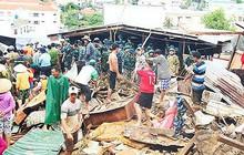 22 người chết và mất tích do mưa lũ kinh hoàng ở Nha Trang và Ninh Thuận