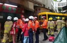 Tai nạn nghiêm trọng ở Hong Kong khiến 16 người thương vong