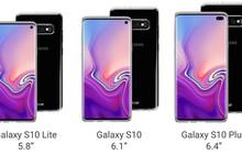 Lộ diện bộ case trong suốt làm nổi bật thiết kế của Galaxy S10: Vẫn giữ jack 3.5mm