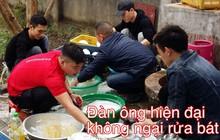 Rửa một mạch hết 20 mâm bát đĩa, 5 thanh niên đảm đang khiến cánh chị em nhất loạt đòi làm dâu xứ Nghệ