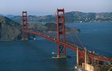 Lạ lùng nhỉ: Cầu Cổng Vàng nổi tiếng nước Mỹ lại có màu sơn... gần như là đỏ?