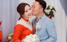 """Hai tuần sau kết hôn, bà xã Tiến Đạt dí dỏm tâm sự: """"Cám ơn cả nhà nhiều lắm vì đã tạo điều kiện cho Vy lấy chồng"""""""