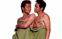 """Bất ngờ với loạt ảnh nhạy cảm của Cổ Thiên Lạc cùng nam đồng nghiệp được """"đào mộ"""" trở lại"""