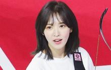 """Cắt phăng mái tóc dài, Wendy (Red Velvet) được netizen """"khen lấy khen để"""" tại đại hội thể thao"""