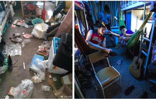 Chùm ảnh: Cuộc sống tăm tối, bừa bộn bên trong ký túc xá các trường Đại học lớn ở Trung Quốc