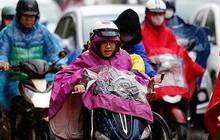 Hà Nội trời rét đậm rét hại, nhiều tỉnh thành mưa lớn do không khí lạnh