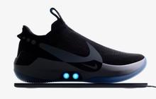 """Nike ra mắt mẫu giày tự thắt dây mới, có thể điều chỉnh độ """"fit"""" với bàn chân bằng ứng dụng smartphone"""