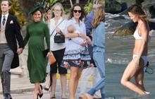 Em gái Công nương Kate mặc bikini khoe cơ bụng săn chắc khi vừa sinh con được 13 tuần