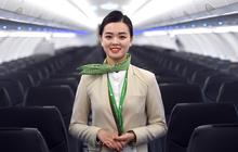 Phải công nhận, đồng phục của tiếp viên Bamboo Airways không chỉ lịch sự mà còn rất đẹp và trendy
