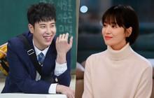 """Chỉ bằng một nụ cười, Song Hye Kyo khiến """"fan boy"""" đơ người đến nỗi quên luôn lời thoại"""