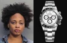 Trộm được 4 chiếc đồng hồ Rolex hơn 2,5 tỷ đồng, nữ đạo chích đánh liều giấu luôn vào chỗ cực hiểm hóc