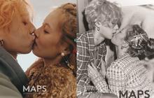 """Lần đầu trong lịch sử Kbiz, một cặp đôi dám """"khóa môi"""" công khai trên bìa tạp chí và được khen hết lời vì quá nghệ"""