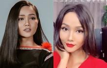Nhìn những lần H'Hen Niê thử sức với tóc dài sẽ thấy tóc tém vẫn hợp với cô nhất