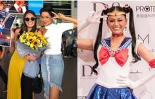 H'Hen Niê đón Miss Universe Nhật Bản từng gây sốt với quốc phục thuỷ thủ mặt trăng đến thăm Việt Nam