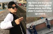 """Lầy như Châu Kiệt Luân: Chụp lén fan đang bắt chước tạo dáng giống mình, hả hê """"bêu riếu"""" trên Instagram"""