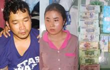Bắt hai vợ chồng tàng trữ ma túy, phát hiện nhiều vũ khí nguy hiểm