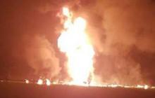 Hiện trường lửa cháy ngùn ngụt, người bị cháy đen do nổ đường ống ở Mexico
