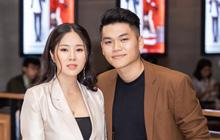 Chúc mừng Việt Nam vào tứ kết, Lê Phương tranh thủ tiết lộ tin vui sau hơn 1 năm kết hôn với ông xã kém tuổi?