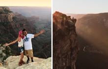 Chụp ảnh tự sướng trên vách đá dựng đứng, vợ chồng Travel Blogger rơi xuống vực chết thảm