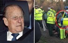 Nữ hoàng Anh bị vạ lây, trở thành tâm điểm chỉ trích sau vụ tai nạn xe hơi của chồng trong đó có trẻ em