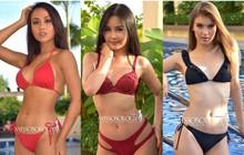 Ngân Anh diện trang phục đính cườm như đồ lót, lộ da mẩn đỏ trong bộ ảnh bikini tại Miss Intercontinental