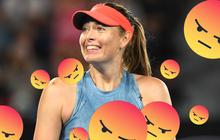 Nước Úc phẫn nộ vì Maria Sharapova đi vệ sinh quá lâu