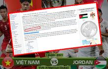 """Quá vui vì đội nhà thắng Jordan, fan Việt dám """"troll"""" cả đội bạn nhờ chỉnh sửa website Wikipedia"""