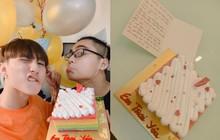 Sơn Tùng bí mật tổ chức sinh nhật lúc nửa đêm cho em trai, tự tay viết thiệp nhắn nhủ đầy tình cảm