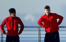 Không ngủ nướng, tuyển Việt Nam đi dạo thư giãn sáng sớm sau trận thắng Jordan