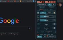 """Hô biến bất kỳ website nào sang Dark Mode huyền bí trong một nốt nhạc, rất thích hợp với các """"cú đêm"""""""