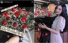 Giữa bão chiến thắng, Hà Đức Chinh vẫn không quên gửi hoa tặng sinh nhật bạn gái