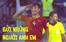 """Dũng """"bộ đội"""" gửi tặng chiến thắng tới đồng đội đang điều trị chấn thương ở Hàn Quốc"""