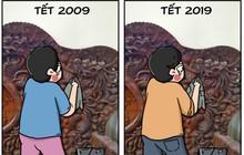 10 năm trôi qua, mọi thứ thay đổi chỉ có thử thách lau đồ gỗ trước Tết là vẫn ám ảnh như xưa!