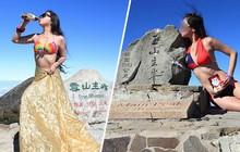 Đam mê mặc bikini leo núi, người phụ nữ tử vong vì quá lạnh