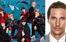 """Đẳng cấp """"Idol Kpop toàn cầu BTS"""": Khiến tài tử Hollywood nhảy đến đổ mồ hôi khi đi xem concert"""