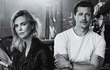 """Hé lộ ảnh Brad Pitt cực đẹp đôi bên """"bạn gái tin đồn"""" Charlize Theron và hoàn cảnh gặp gỡ của họ"""