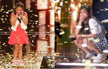 """Cô bé 12 tuổi làm nên lịch sử khi 2 lần được nhận nút vàng tại """"America's Got Talent"""""""