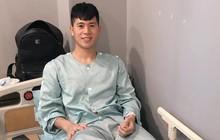 Đình Trọng được Đại sứ Việt Nam tại Hàn Quốc thăm hỏi sau ca phẫu thuật