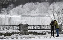 Chùm ảnh: Thác Niagara hóa xứ sở băng giá