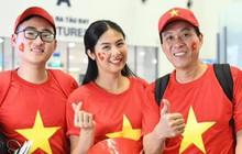 Hoa hậu Ngọc Hân đến Dubai tiếp lửa cho tuyển Việt Nam trong trận gặp Nhật Bản