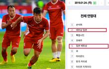 Tuyển Việt Nam leo top trang tìm kiếm Hàn Quốc, dân mạng hẹn các học trò Park Hang Seo cùng vào chung kết