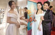 """Trong khi Hari Won """"mặc lại"""" váy cưới của Nhã Phương thì Trấn Thành lại chơi lớn với set đồ gần 1,5 tỷ đồng ở sự kiện"""