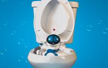 """Không có """"ma quỷ"""" nào chui lên từ toilet, nhưng con robot kỳ dị này sẵn sàng làm vậy đấy"""